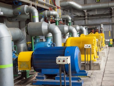 Electric Motors in Power Plant