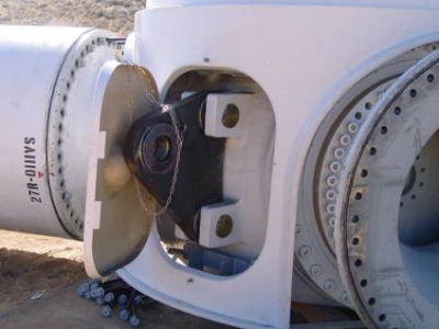 Wind Turbine Rotor Hub Assembly