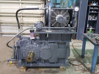 gearbox after refurbishment
