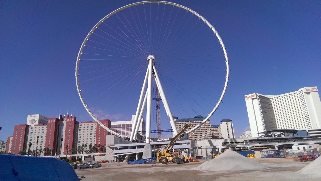 Ferris Wheel with no cabins