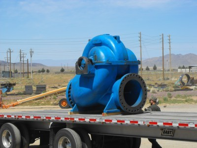 Pump Housing Repair Shipment