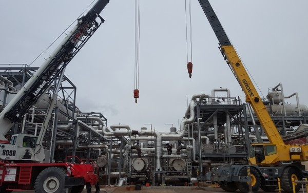 Solar Steam Generator tube removal with granes