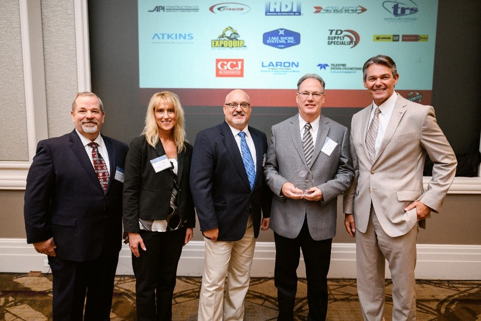 Bechtel Honors Laron for commitment to excellence and quality