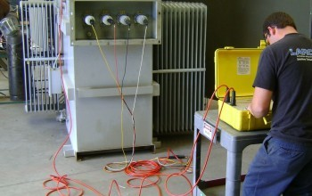 Electric Apparatus Repair and Testing Bench
