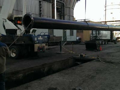 Fly Ash Transport Piping Replacement