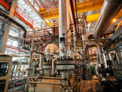 Piping in Petrochemical Plant