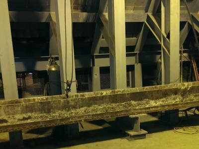 Submerged Drag Chain Conveyor Removal