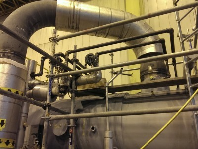 feedwater heat exchanger