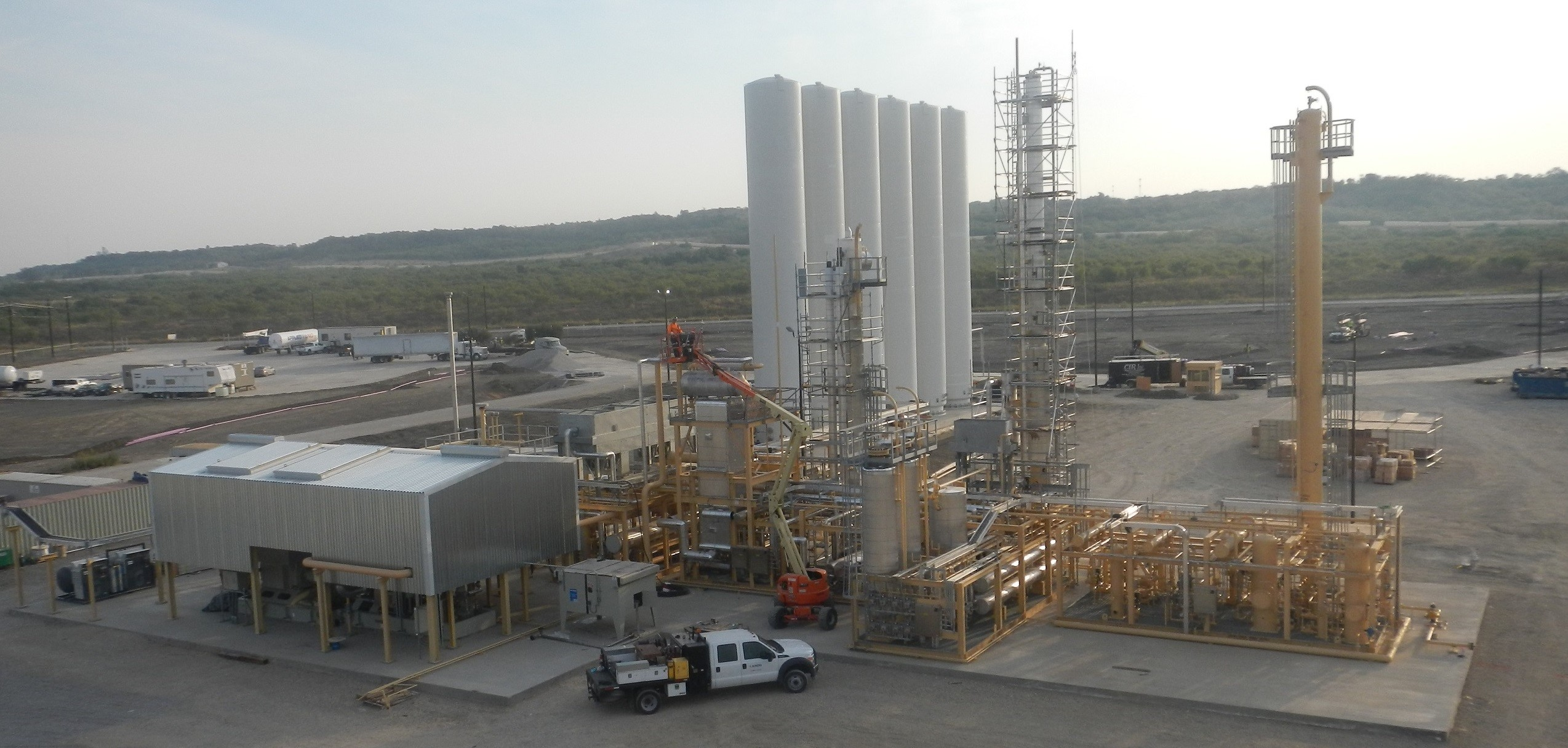 Primary Contractor for Liquefied Natural Gas